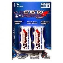PILE ENERGY PAINTBALL 9 VOLTS (l'unité)