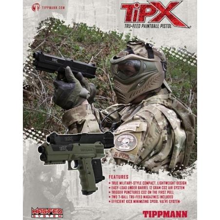 Tippmann Sierra One Tactical Edition Paintball CO2 Set
