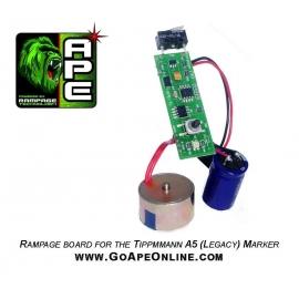 CARTE ELECTRONIQUE APE RAMPAGE TIPPMANN A5 (no selector)