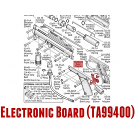 CARTE ELECTRONIQUE APE RAMPAGE POUR TIPPMANN A5