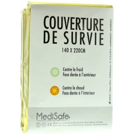 COUVERTURE DE SURVIE DOUBLE FACE