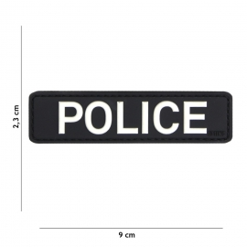 BADGE METAL FOSCO SPECIAL POLICE OR